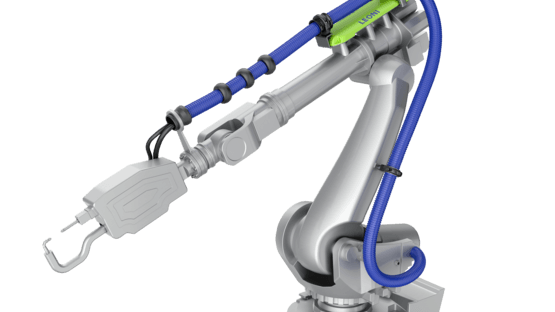 Schlauchpaket-Lösung LSH3 für die Robotik