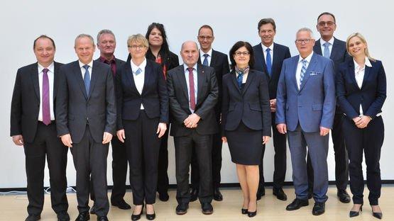 The new Supervisory Board of Leoni AG.