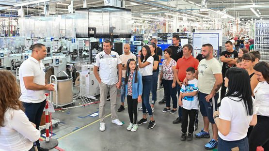Open Door Day in LEONI plant in Prokuplje