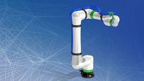 Leoni desarrolla una solución inteligente de gestión de cables para los nuevos robots colaborativos CRX de FANUC