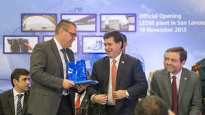 Leoni inaugurates first wiring systems plant in Paraguay