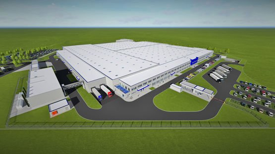 Visualisation of Leoni's fourth plant in Serbia