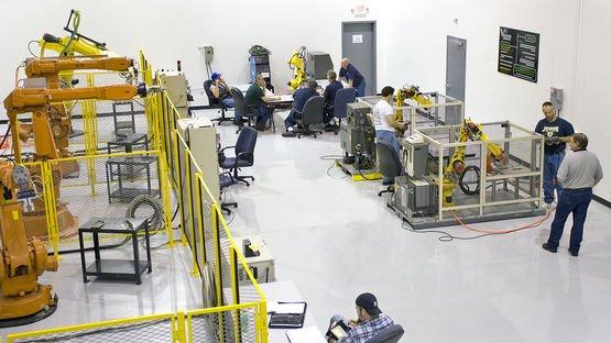 Inhouse robot studio