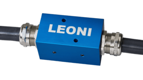 Automatica 2018: Leoni presents compatible rivet feed-hose connector for the first time
