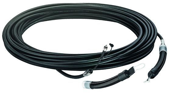Optical cable for industrial spectroscopy