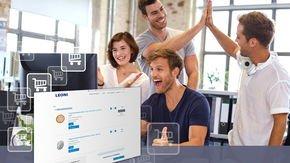 새로운 B2B 웹 상점: LEONI는 고객이 산업용 로봇 제품을 더 쉽게 주문할 수 있도록 만듭니다.