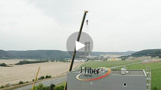 Installation of drawing towers in Jena