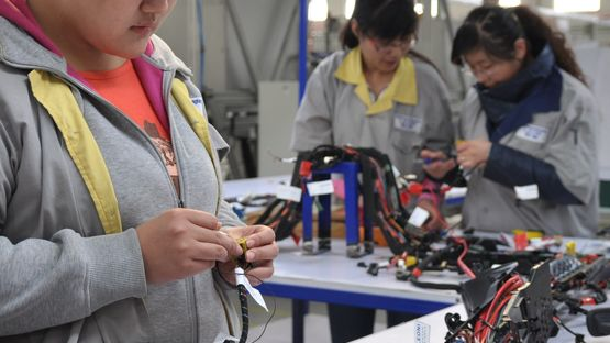 Kabelsatz-Produktion in Langfang
