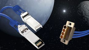 Leoni makes onboard data network of the service module for the Orion space capsule fit for 10 Gbit/s