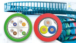 Leoni expands range of bus cables for industrial engineering