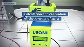 TCP calibration system, calibration of robotic tools & fixtures