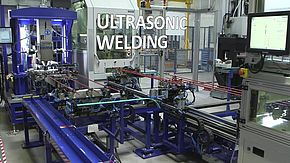 Fully automated production of solid power distribution lines