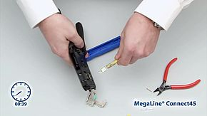 MegaLine Connect45 Schnellmontage